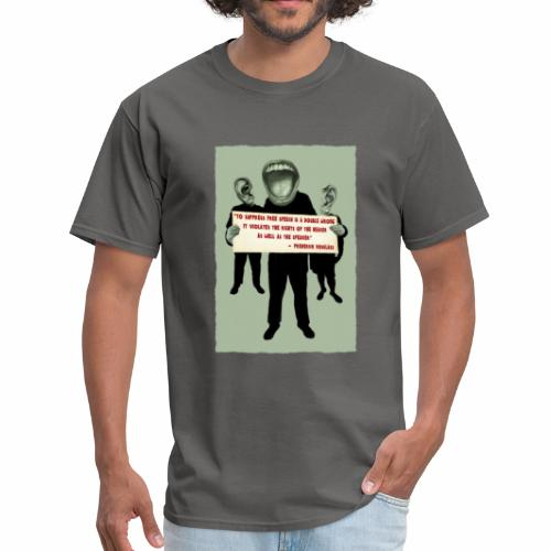 Frederick Douglass quote - Men's T-Shirt