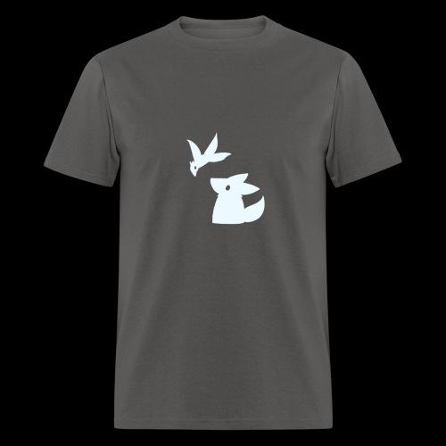 Fluffy hollow logo - Men's T-Shirt