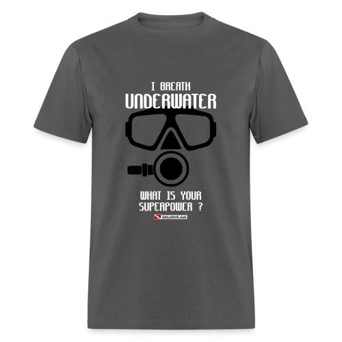 DIVER SCUBA fun - Men's T-Shirt