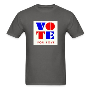 vote4love-sample - Men's T-Shirt