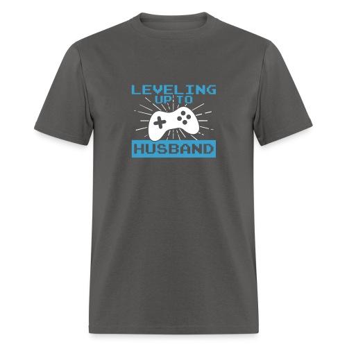 Funny Leveling Up To Husband T-Shirt - Men's T-Shirt