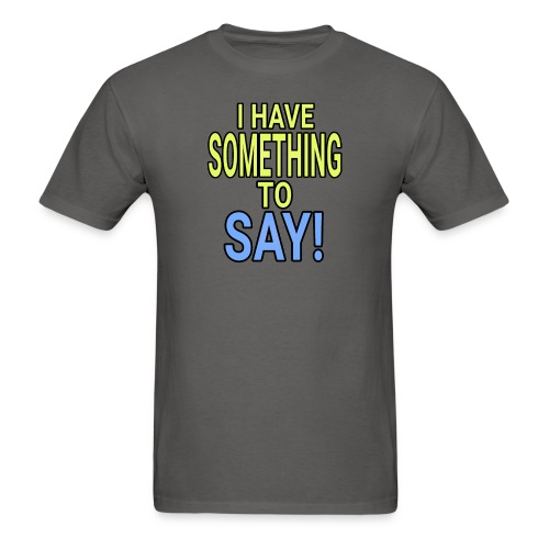 Dave The Cat Big Word tee! STS! - Men's T-Shirt