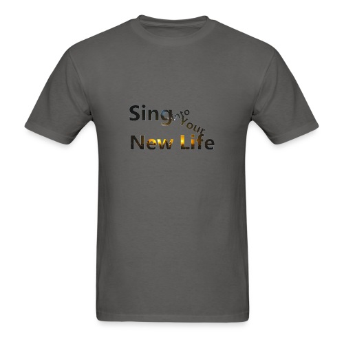 Sing in Brown - Men's T-Shirt