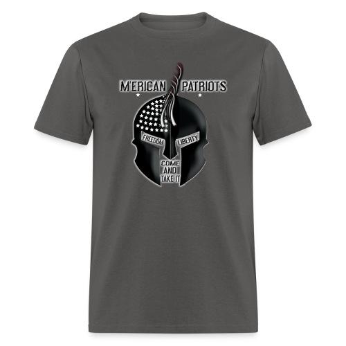 merican patriots logo - Men's T-Shirt