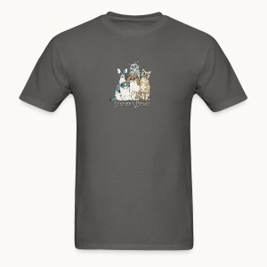 CATS - SENTIENT BEINGS - Carolyn Sandstrom - Men's T-Shirt