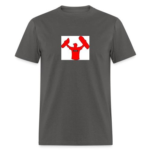 haybro gone wild logo - Men's T-Shirt