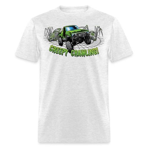 Creepy Truck Crawler blk web - Men's T-Shirt