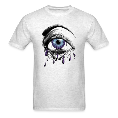 Lightning Tears - Men's T-Shirt