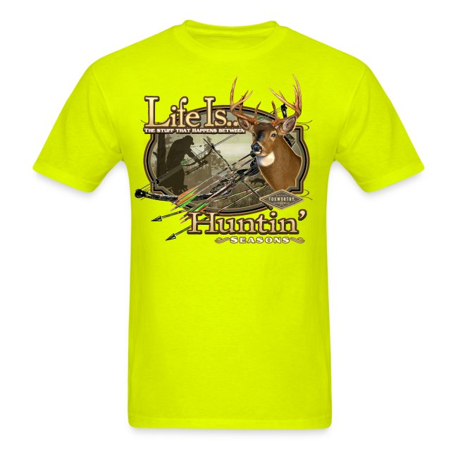 life is deer bow hunting