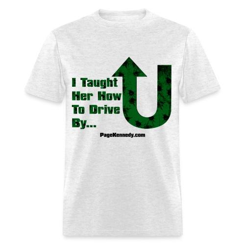 drive green burl - Men's T-Shirt