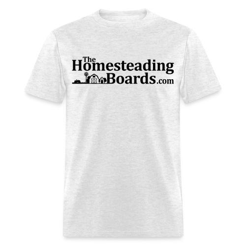 THB Black Logo BW 01 png - Men's T-Shirt