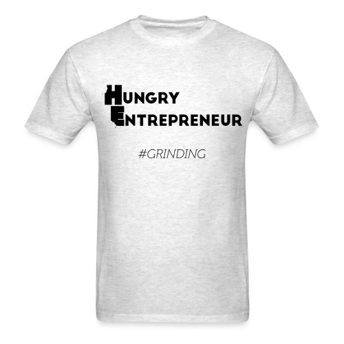 Hungry Entreprenuer print correct png - Men's T-Shirt