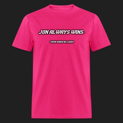 jonalwayswins1 png - Men's T-Shirt
