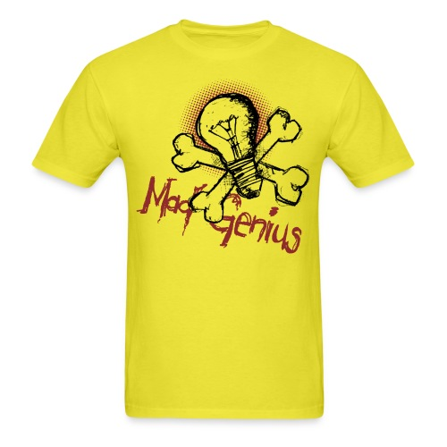 Mad Genius - On Light - Men's T-Shirt