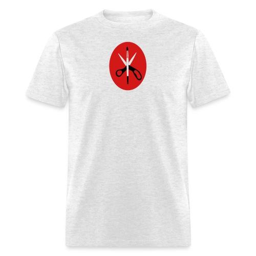 scissors and brush - Men's T-Shirt