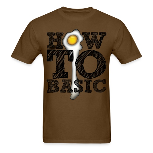 how to basic01 - Men's T-Shirt