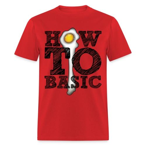 how to basic01 - Men's T-Shirt