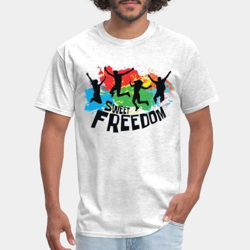 freedom free - Men's T-Shirt