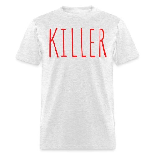 KILLER (in red letters) - Men's T-Shirt