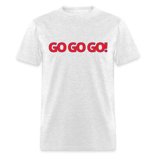 GO GO GO bleu blanc rouge - Men's T-Shirt