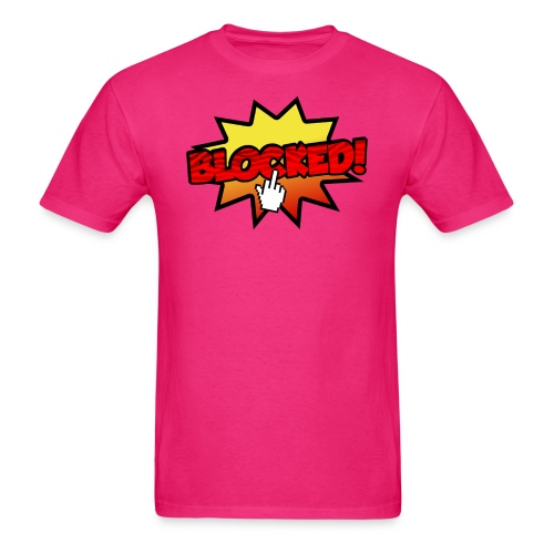 blocked - Men's T-Shirt
