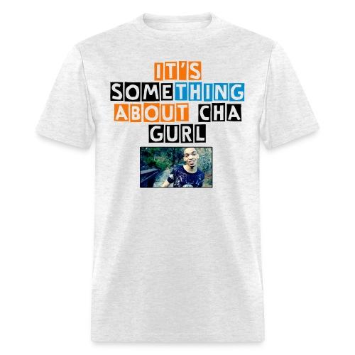adjusted somethinggurl - Men's T-Shirt