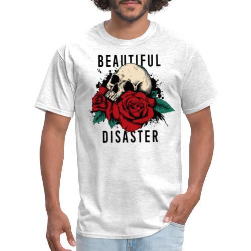 skull roses - Men's T-Shirt