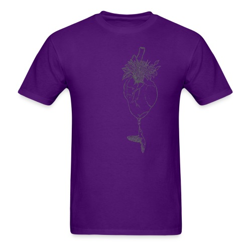 hummingbirdheart - Men's T-Shirt