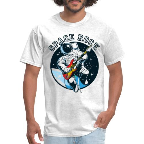 space astronaut rock - Men's T-Shirt