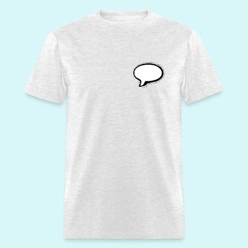 Speech Bubble Design - Men's T-Shirt