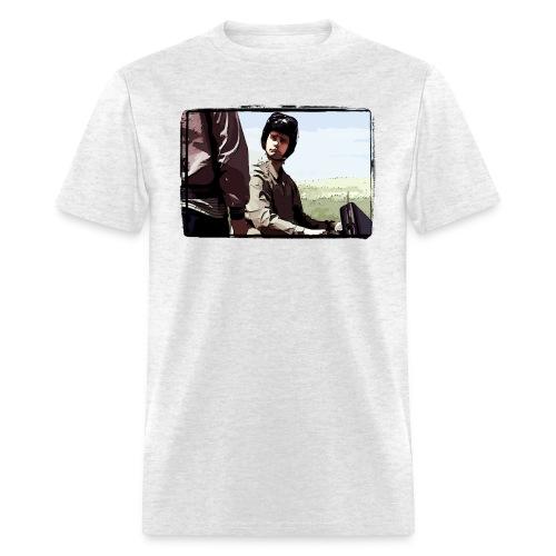 redemption border - Men's T-Shirt