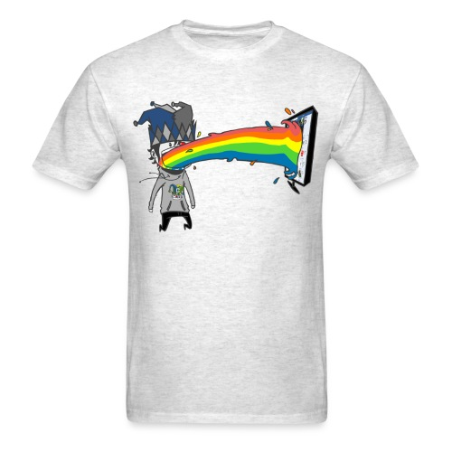 RAINBOW png - Men's T-Shirt