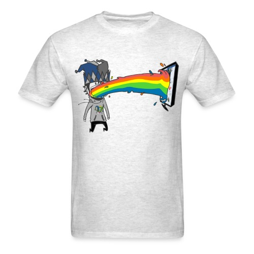 RAINBOW png - Men's T-Shirt