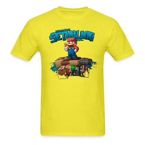 Sethbling Fixed png - Men's T-Shirt