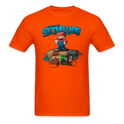 Sethbling Fixed png - Men's T-Shirt