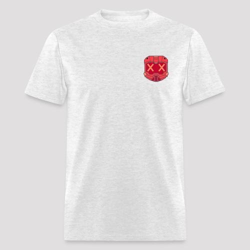 Blood Knight - Red Helmet - Men's T-Shirt