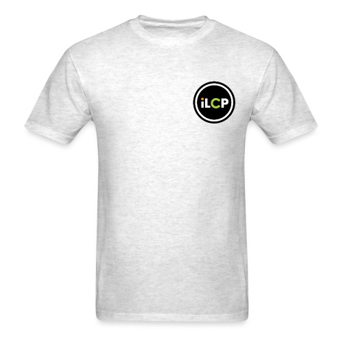 iLCP logo circle - Men's T-Shirt