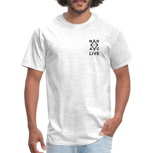 NOAC Live Black Logo - Men's T-Shirt