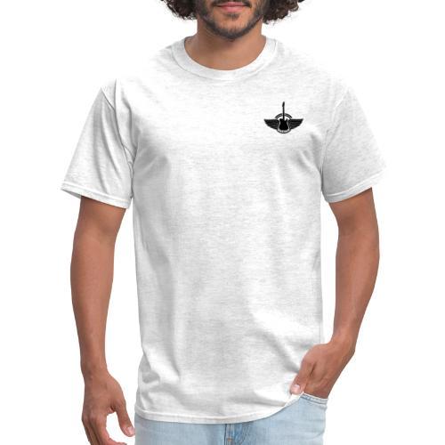 my guitar logo saturday - Men's T-Shirt