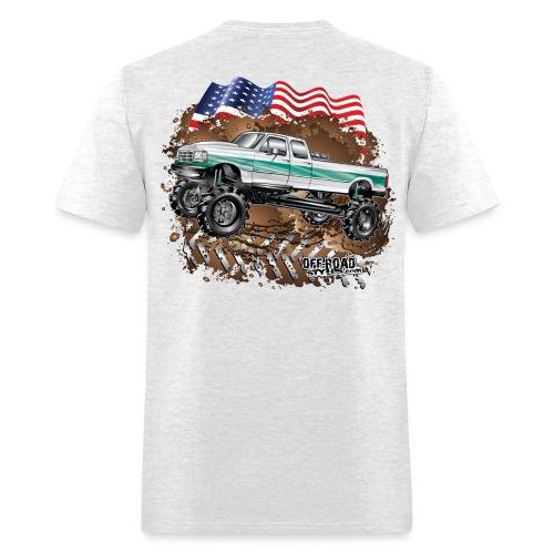 Ford Bronco F350 Mega Truck - Men's T-Shirt