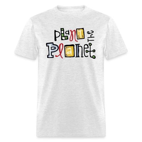 plant c melonheadz 13 colored png - Men's T-Shirt