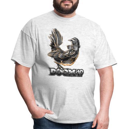 DooM49 Black and White Chicken - Men's T-Shirt