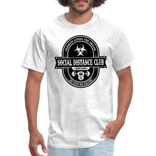 SOCIAL DISTANCE CLUB - Men's T-Shirt