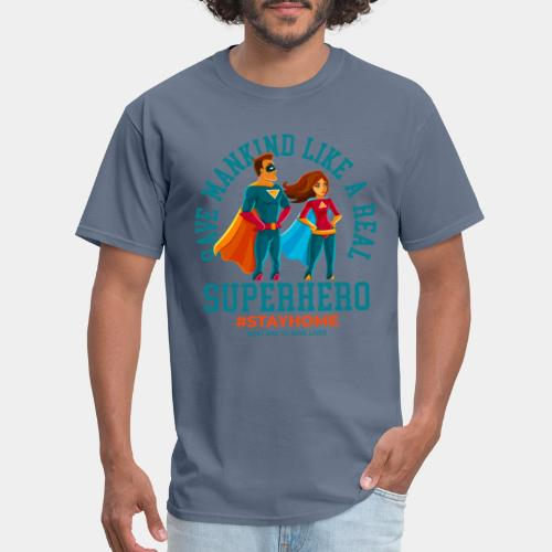 stay home save lives - Men's T-Shirt