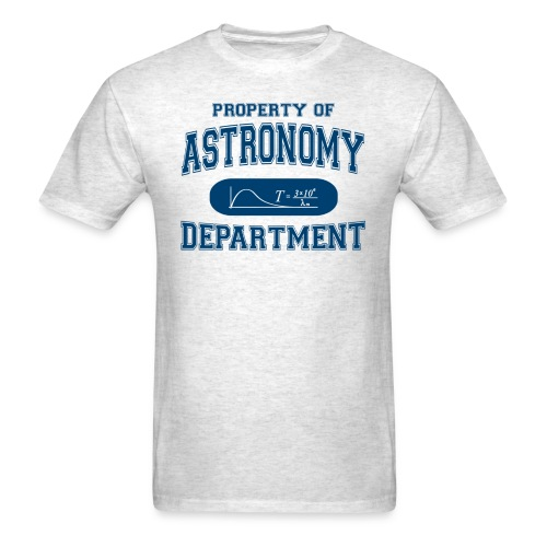 property of astronomy - Men's T-Shirt