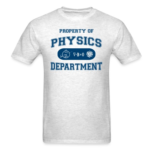 property of physics - Men's T-Shirt