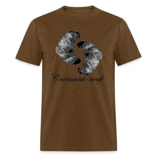 croissant3 black - Men's T-Shirt