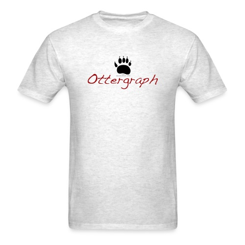ottergraphfinal - Men's T-Shirt