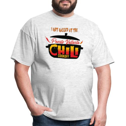 I Got Gassed at the PV Chili Cook-Off - Men's T-Shirt