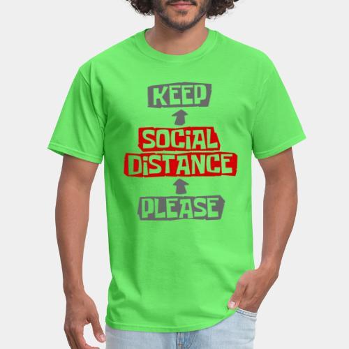 social distance - Men's T-Shirt